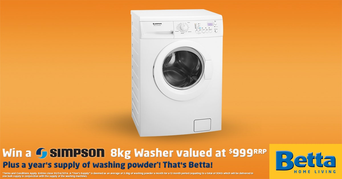 Simpson Washer Promotion