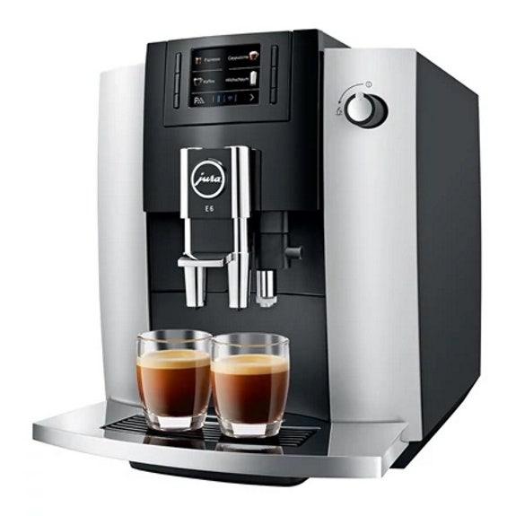 Jura E6 Platinum Automatic Coffee Machine JURA E6 PLATINUM AUTOMATIC COFFEE MACHINE