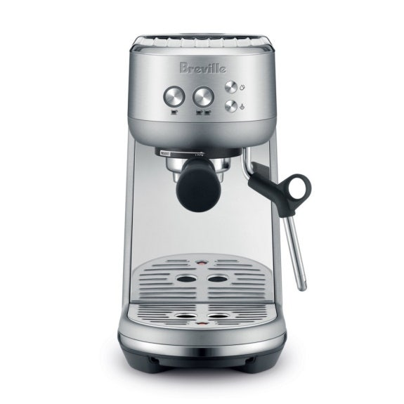 Breville 'The Bambino' Coffee Machine - Brushed Stainless Steel BREVILLE THE BAMBINO COFFEE MACHINE BRUSHED STAINLESS STEEL