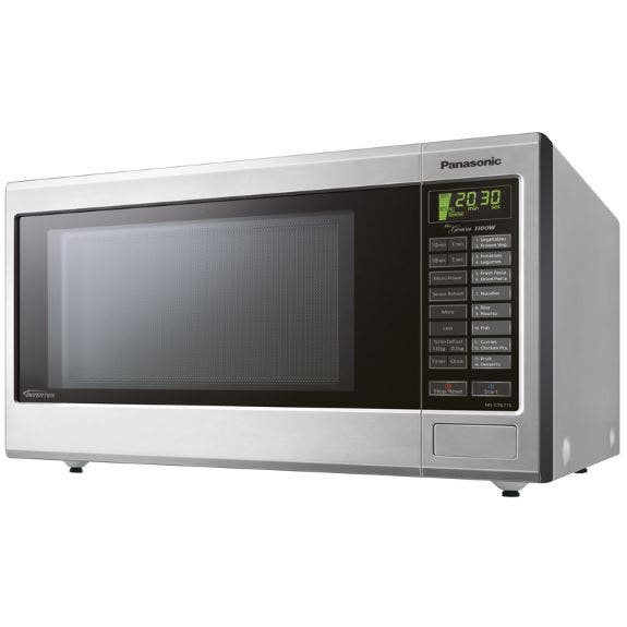 how to make pizza in panasonic microwave