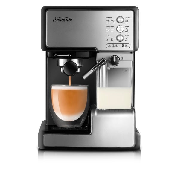 sunbeam coffee machine cafe barista ebay. Black Bedroom Furniture Sets. Home Design Ideas