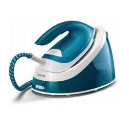 Image of Philips Perfect Care Compact Essential Steam Generator - White Blue