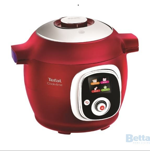 Tefal cy701560 multi cooker cook4me red for Appareil multifonction cuisine