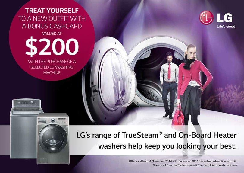 LG Bonus Cashcard