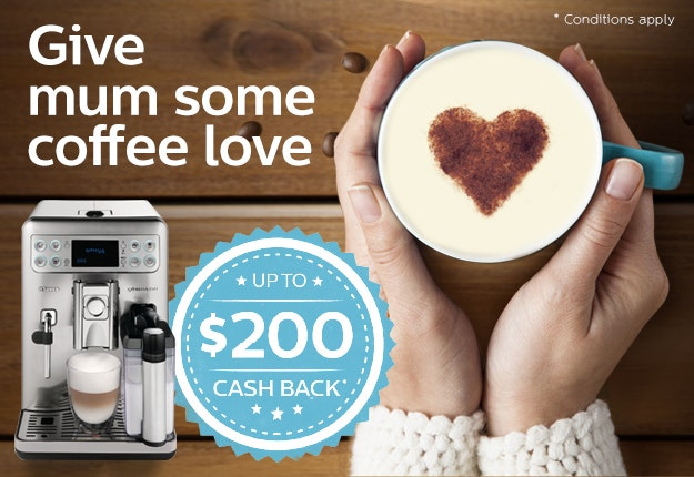 Cash back for Mother's Day promotion