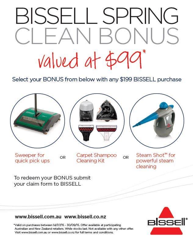 Bissell Spring Clean Bonus