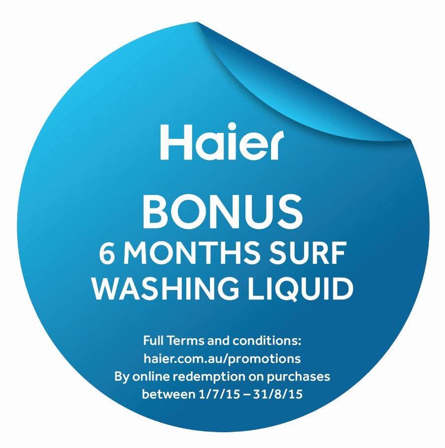 Haier Bonus Surf Liquid